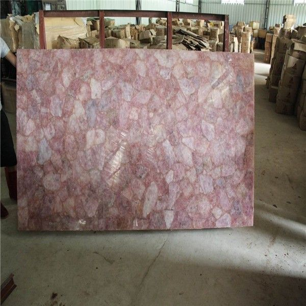Source 20mm Solid Pink Quartz Countertop Quartz Stone Rose Quartz