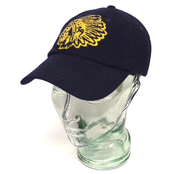 Rugby Ralph Lauren ラグビーラルフローレン ビンテージ ベースボールキャップ ウールキャップ 帽子 [035]
