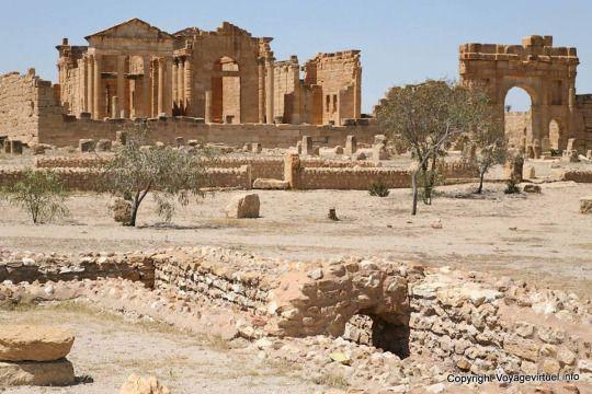 Sbeitla, tunisia 139 CE