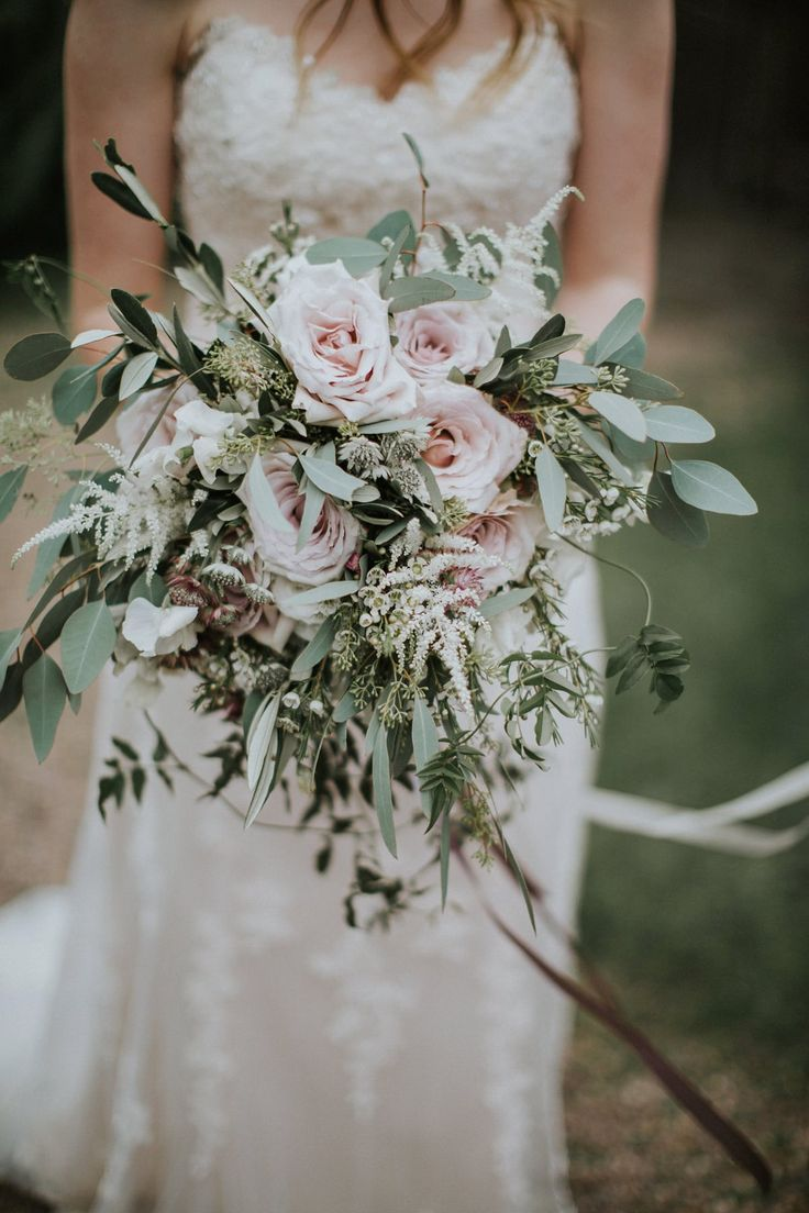 Wild Pink Rose Wedding Flowers Photography By Natalie Pluck