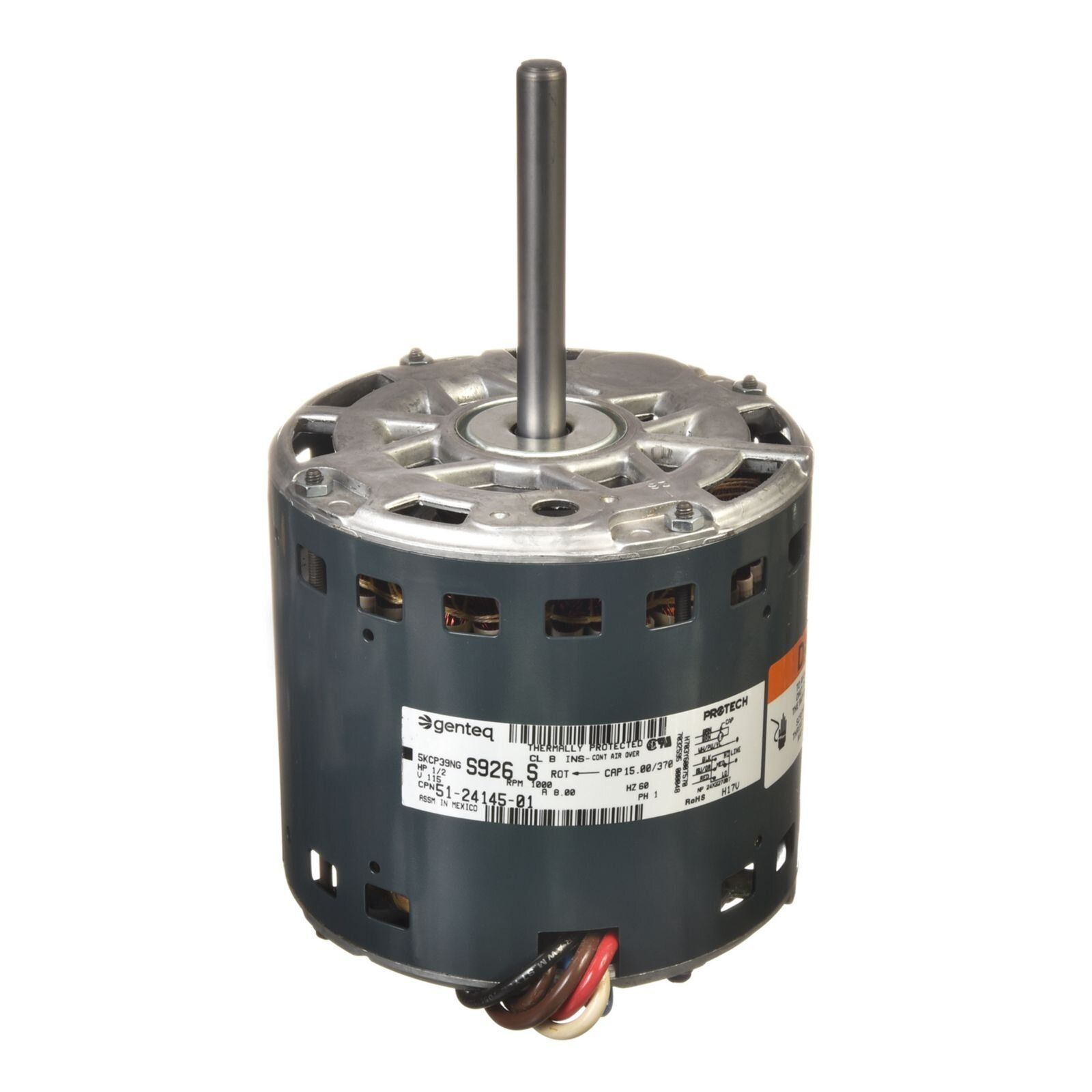 PROTECH 512414501 Blower Motor 1/2 hp 120/1/60 (1075