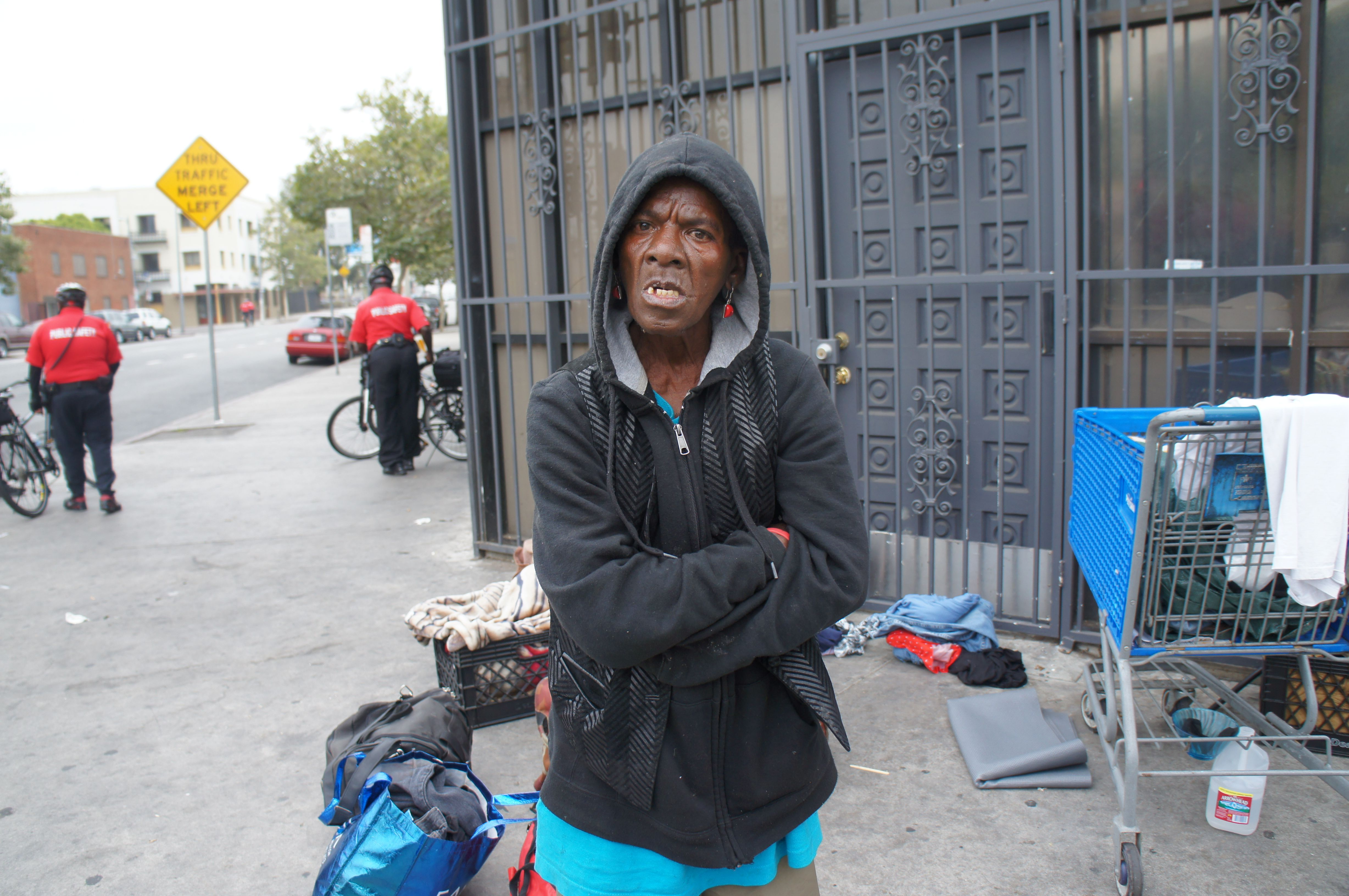 Cleaning Up Skid Row Skid Row Inner City Poverty