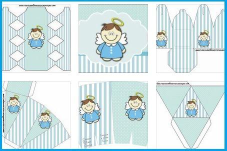 Kit de Baby Shower y Bautismo Niños | Ffg | Pinterest | Bebés reales ...