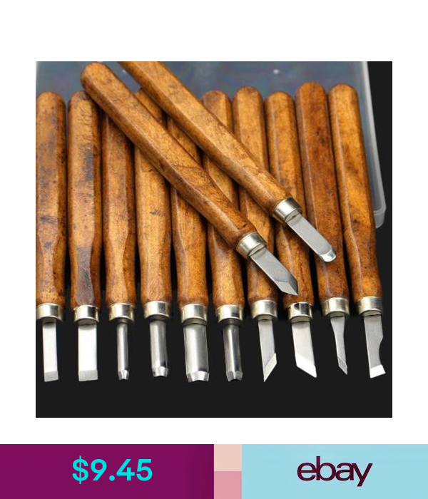 Wood Lathe Chisel Set Woodworking Turning//Tools Cutting Carving HSS Steel Blades
