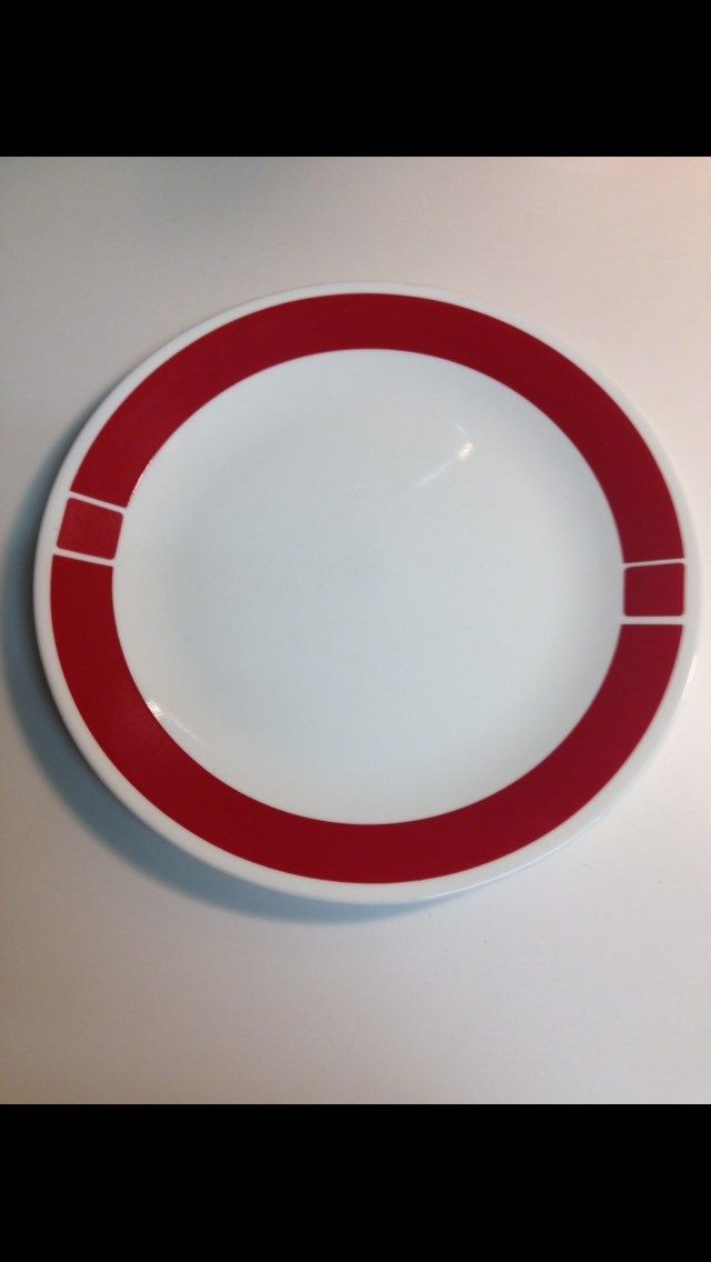 Corelle Urban Red Side Bread Salad Plates by thetrendykitchen on ...