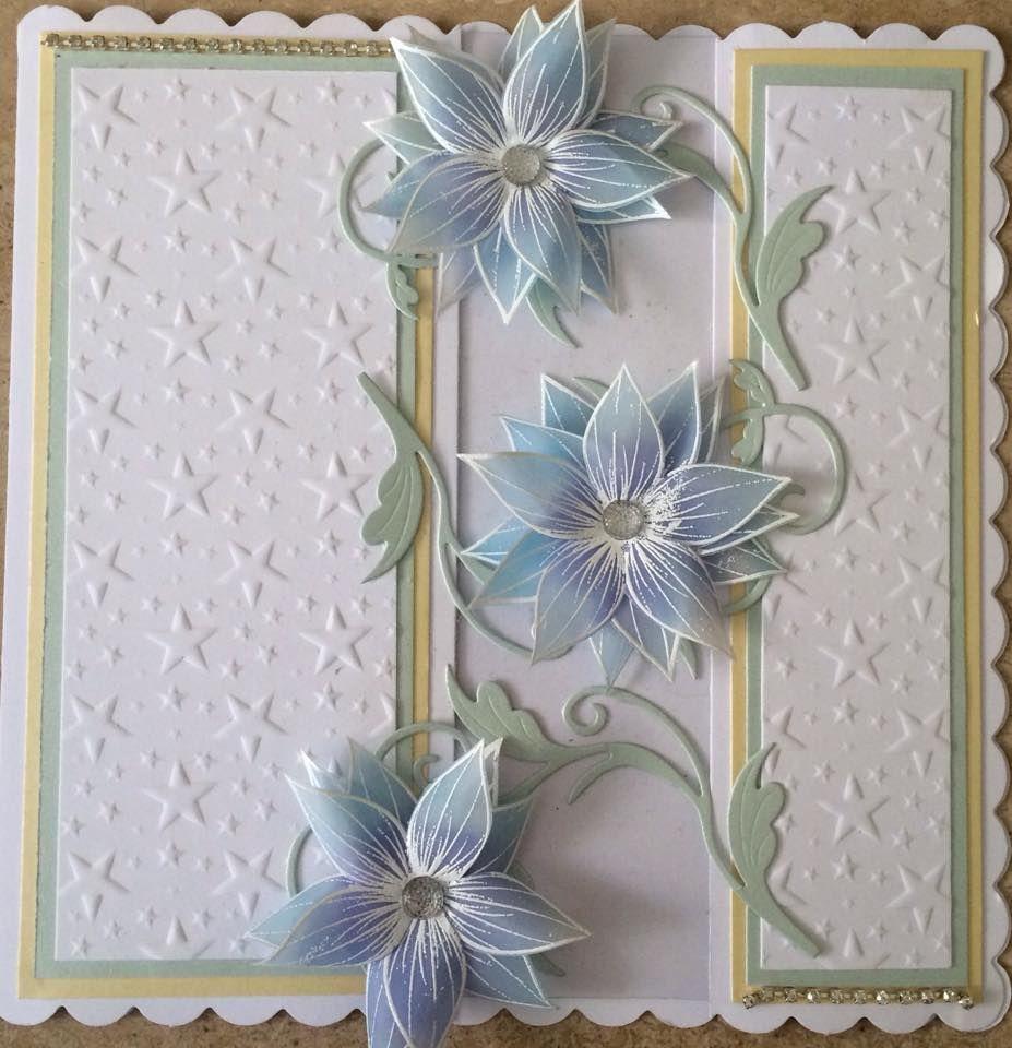 Honey doo flowers parchment paper creations pinterest honey