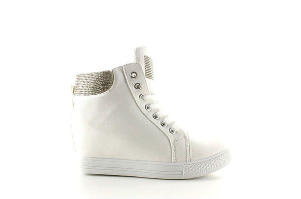Plocienne Trampki Na Koturnie 51153 Y White Biale High Top Sneakers Converse Chuck Taylor High Top Sneaker Chuck Taylors High Top