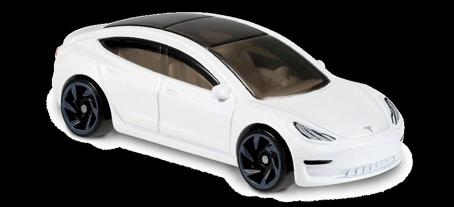 Tesla Model 3 In White Hw Green Speed Car Collector Hot Wheels Hot Wheels Diecast Cars Tesla Model