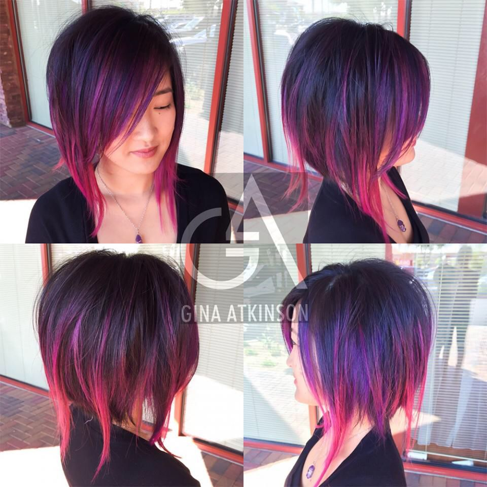 Disconnected Bob Hair Cuts Edgy In 2018 Pinterest
