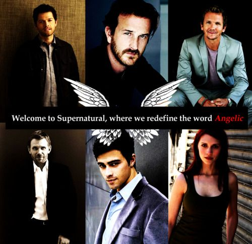 Lucifer Gabriel: Castiel, Gabriel, Balthazar, Lucifer, Michael And Anna