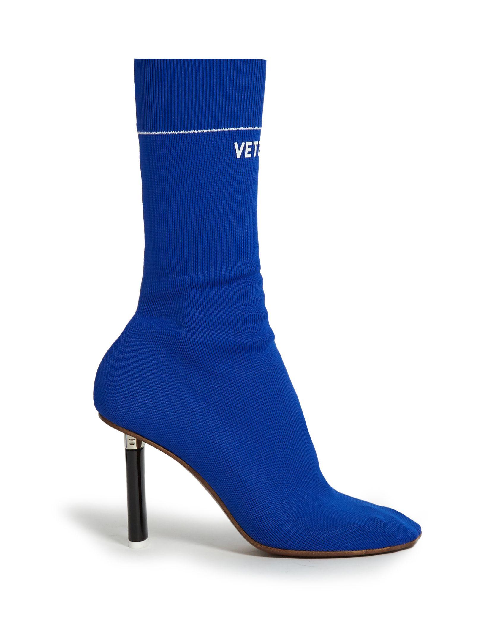 Lighter-heel sock ankle boots | Vetements | MATCHESFASHION.COM UK