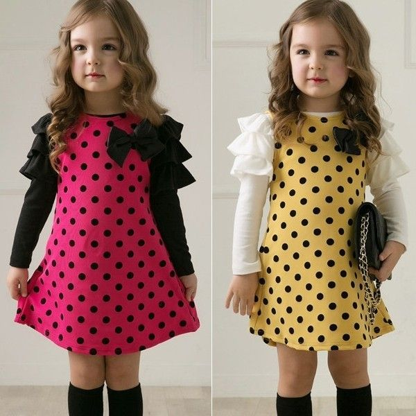 Resultado de imagen para vestidos para niña informales