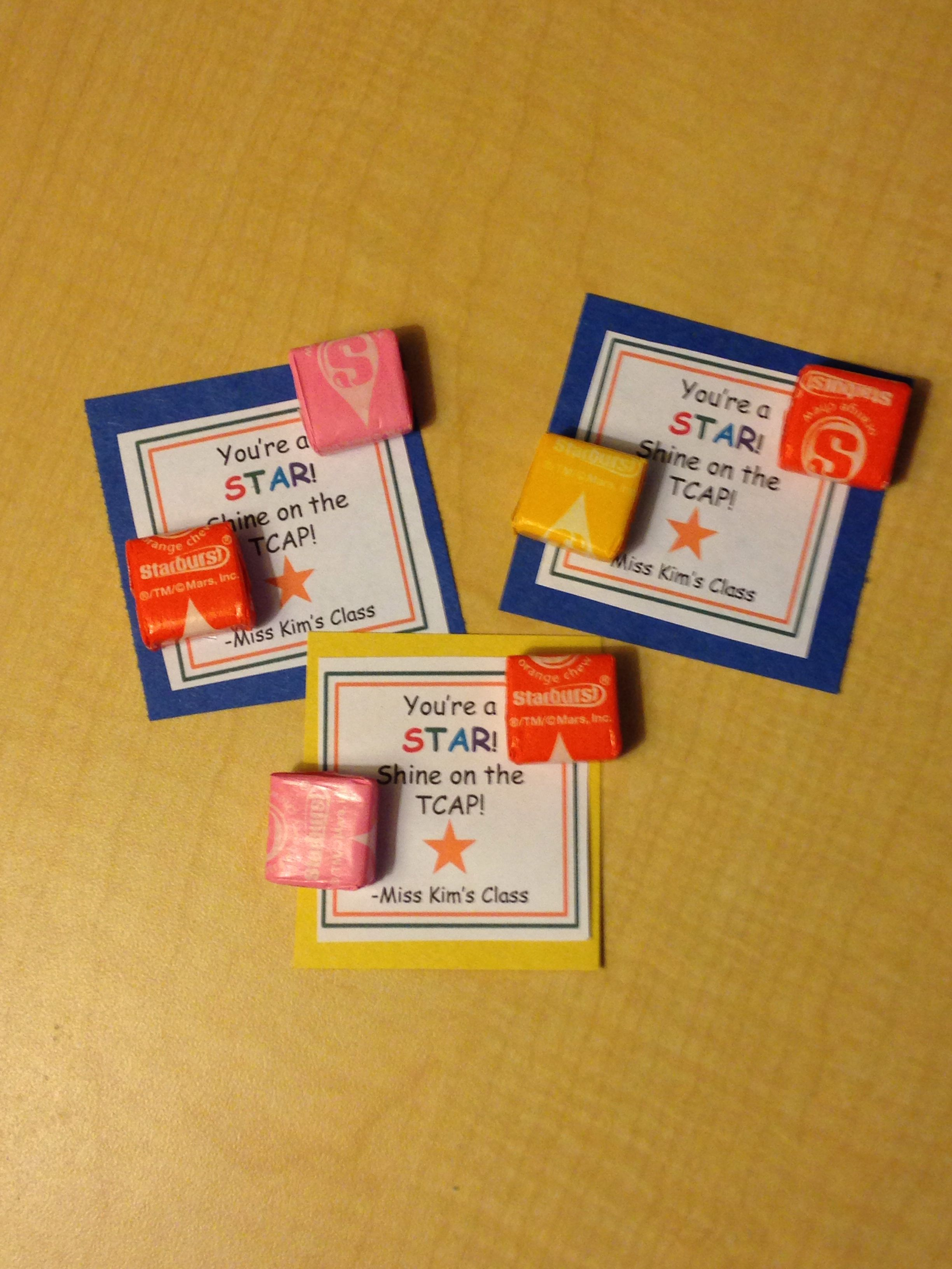 Treats For Kids Who Are Taking Standardized Tests You Re