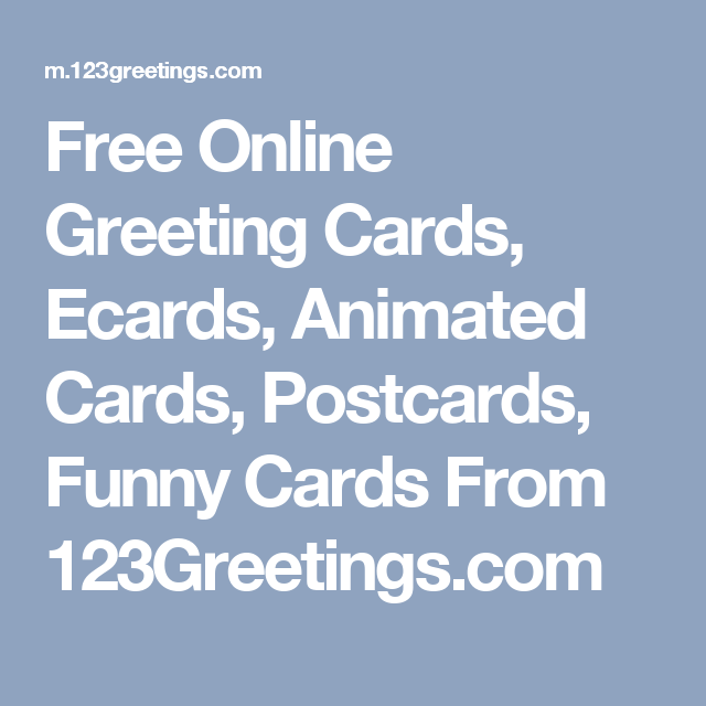 Free online greeting cards ecards animated cards postcards funny free online greeting cards ecards animated cards postcards funny cards from 123greetings m4hsunfo