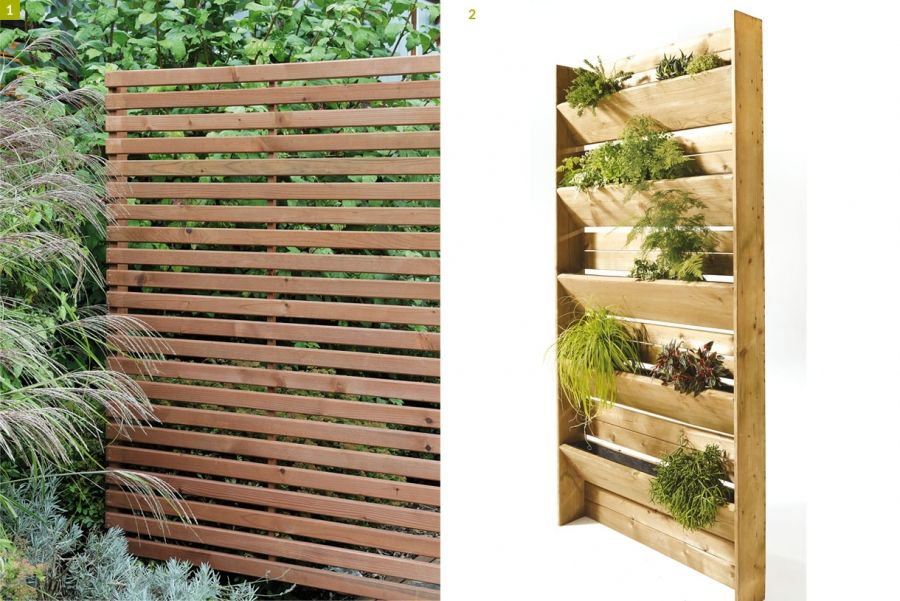 10 paravents et claustras pour pr server son intimit au jardin mur v g tal vertical garden. Black Bedroom Furniture Sets. Home Design Ideas