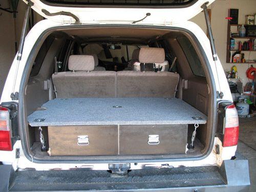 3rd Gen 4runner Cargo Drawer System Colorado 3rd Gen 4runner