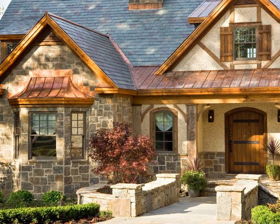 Color Schemes Craftsman Home Exteriors Design Pictures Remodel Decor And Ideas Page 34 With Images Exterior House Colors Rustic Exterior Cottage Style Homes