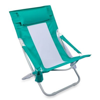 Bed Bath U0026 Beyond Folding Hammock Beach Chair In Blue
