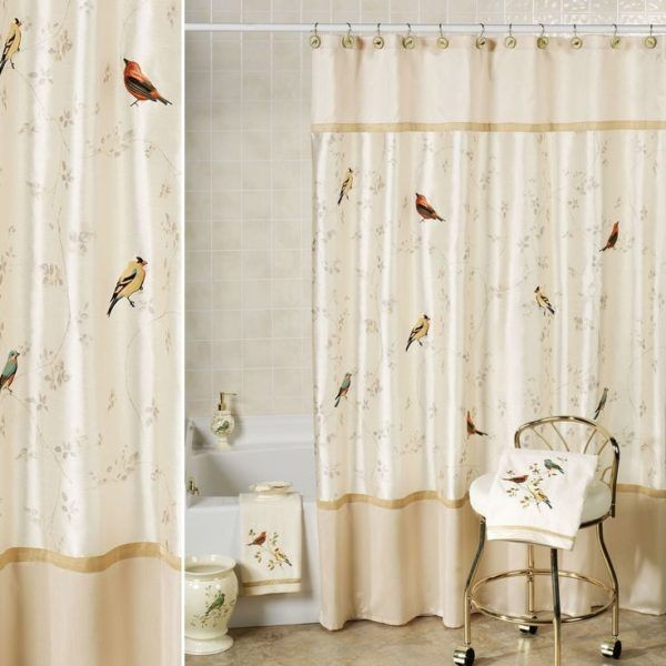 23 Elegant Bathroom Shower Curtain Ideas Photos Remodel And Impressive Elegant Bathroom Shower Curtains Design Ideas