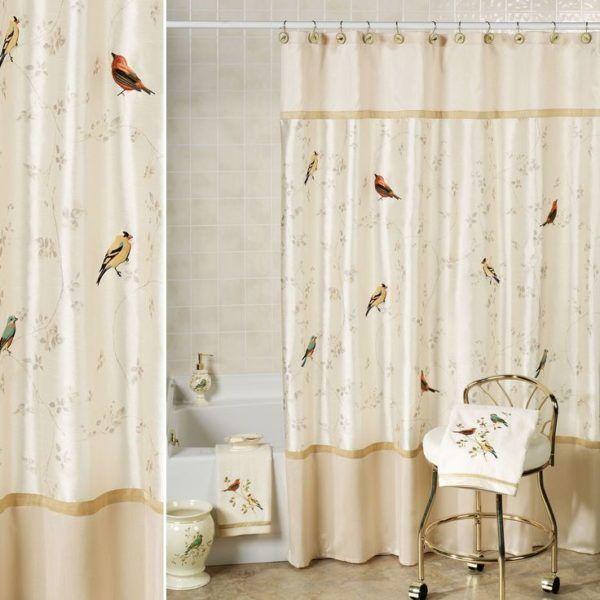 23 Elegant Bathroom Shower Curtain Ideas Photos Remodel And Impressive Elegant Bathroom Shower Curtains Design Ideas