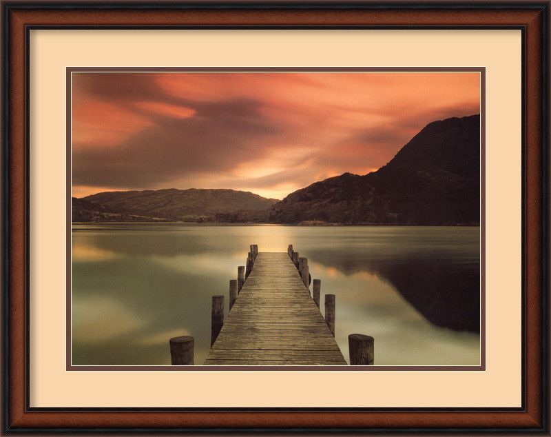 'Ullswater, Glenridding, Cumbria' by Mel Allen Framed Photographic Print