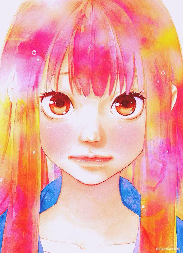 omoi omoware furi furare   Anime, Manga anime, Menina anime