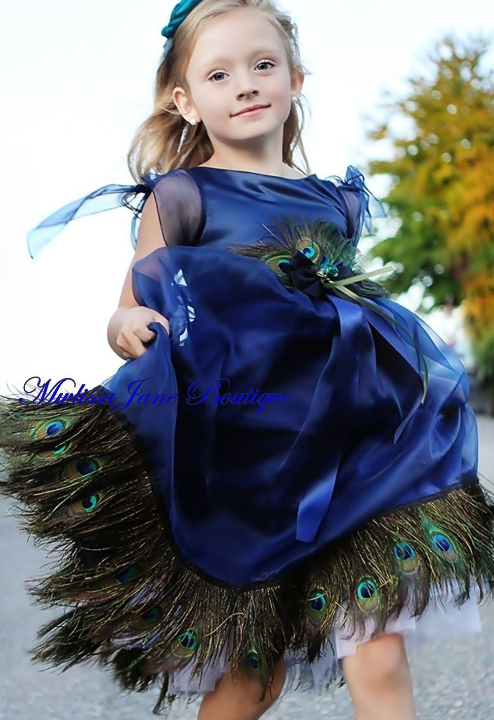 Melissa Jane Boutique Quot Blue Ocean Quot Girls Peacock