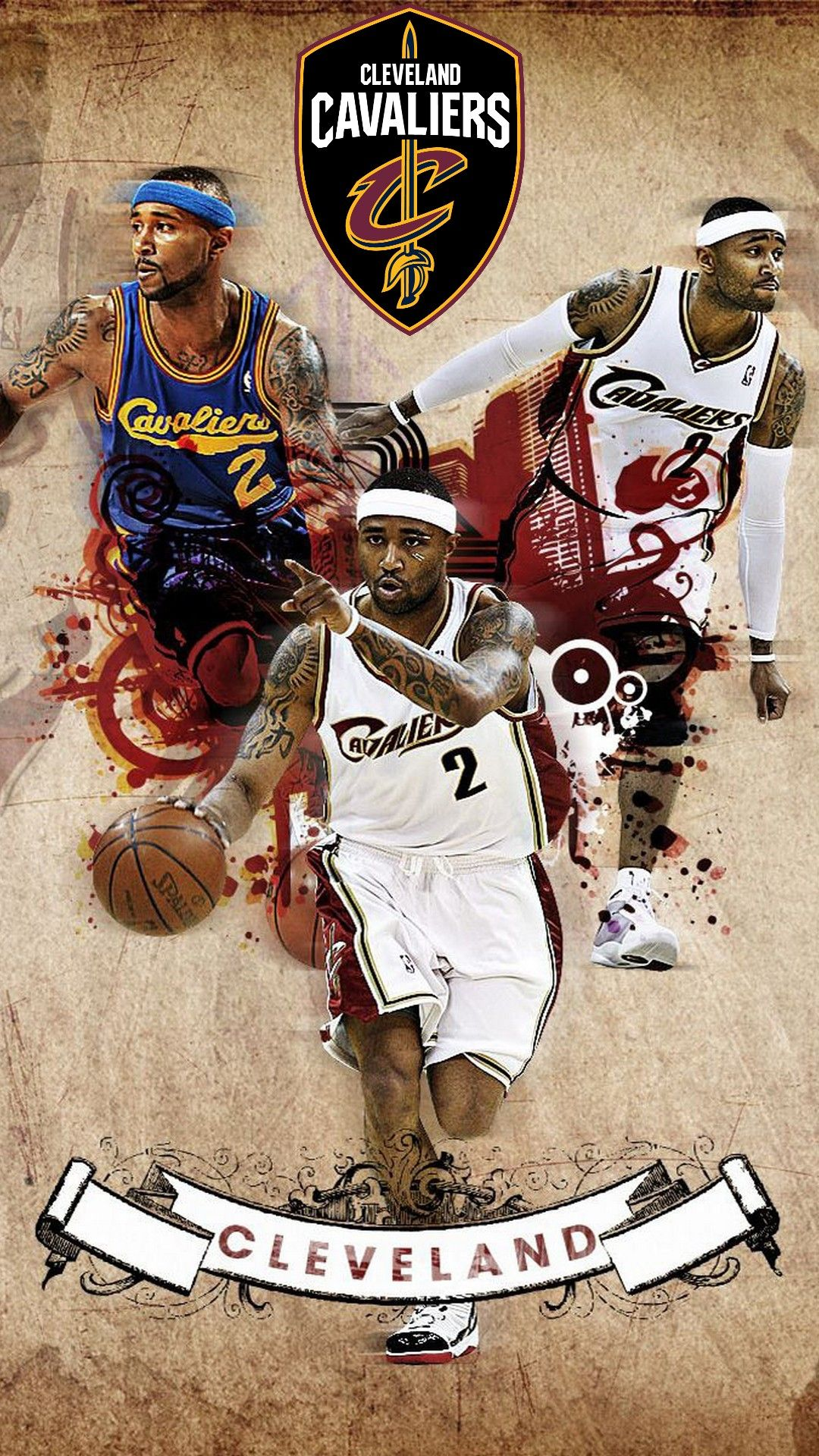 Cleveland Cavaliers NBA Wallpaper For Mobile Nba