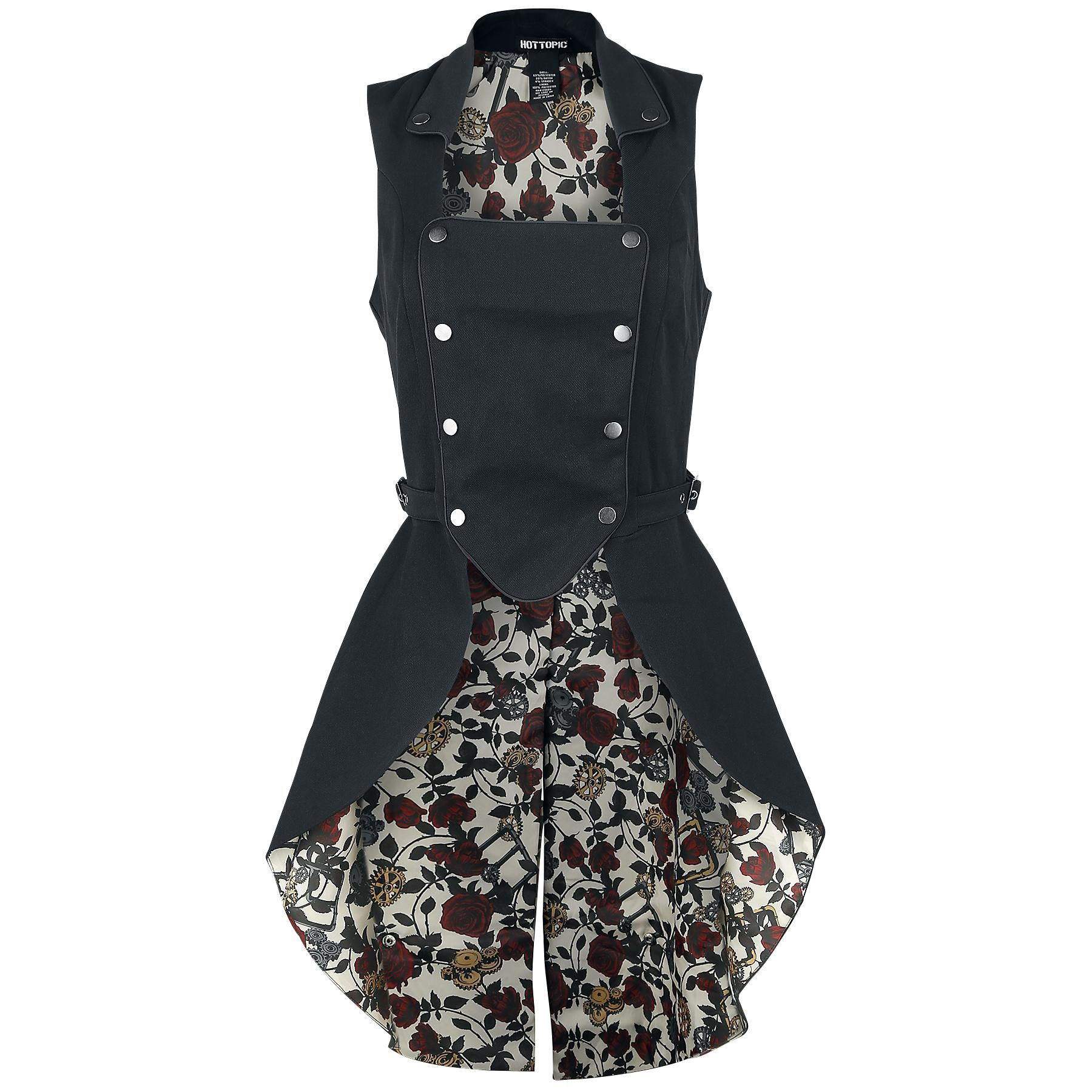 Gear n Roses - Gilet by Hot Topic