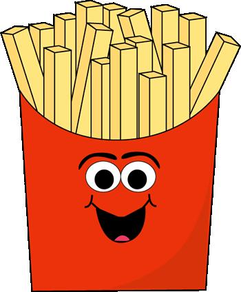 Cartoon French Fries Clip Art Cartoon French Fries Image French Fries French Fries Images Fries