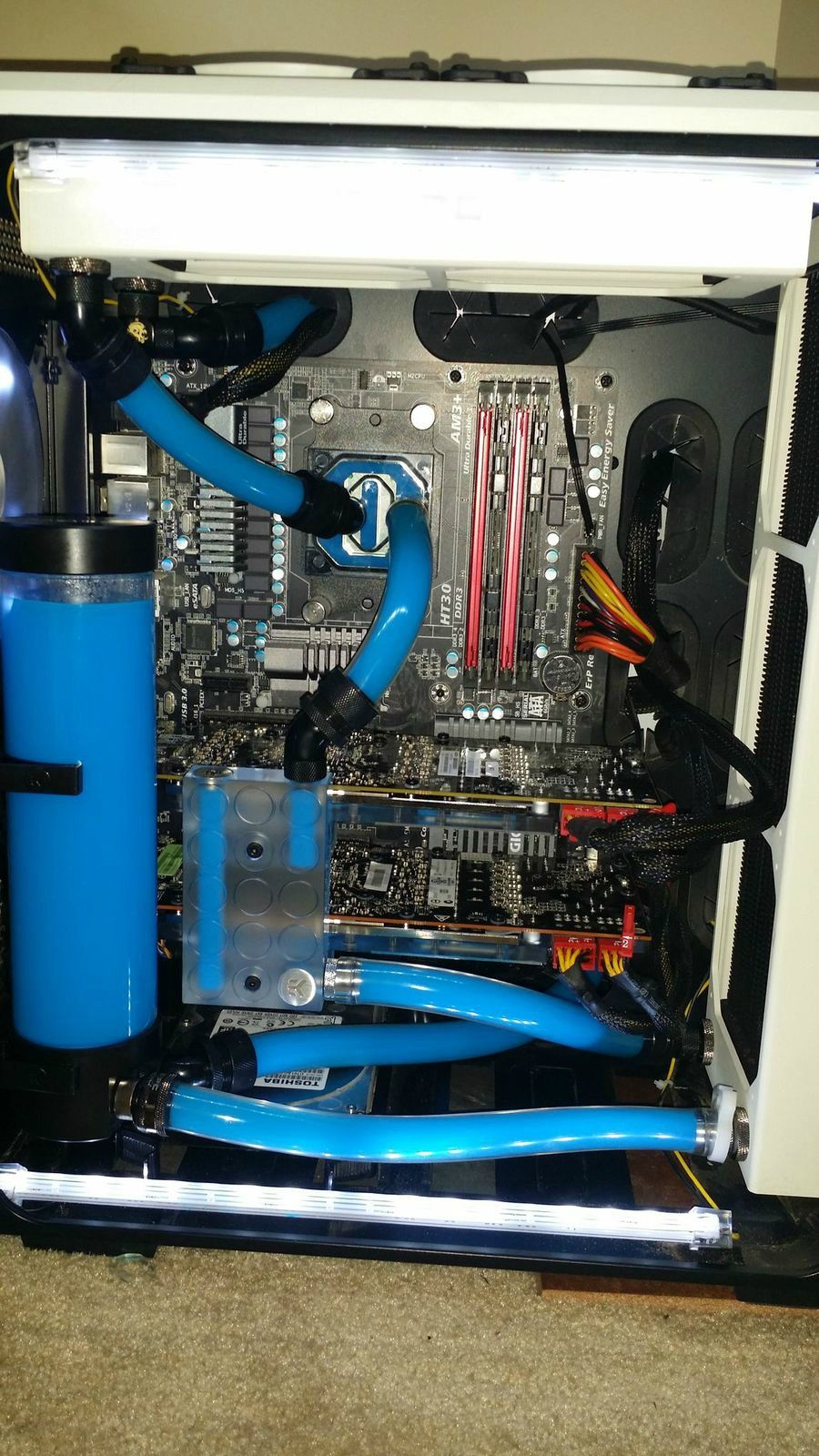Water Cooling System Custom Mod