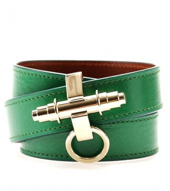 Givenchy Obsedia Leather Wrap-around Bracelet - Lyst