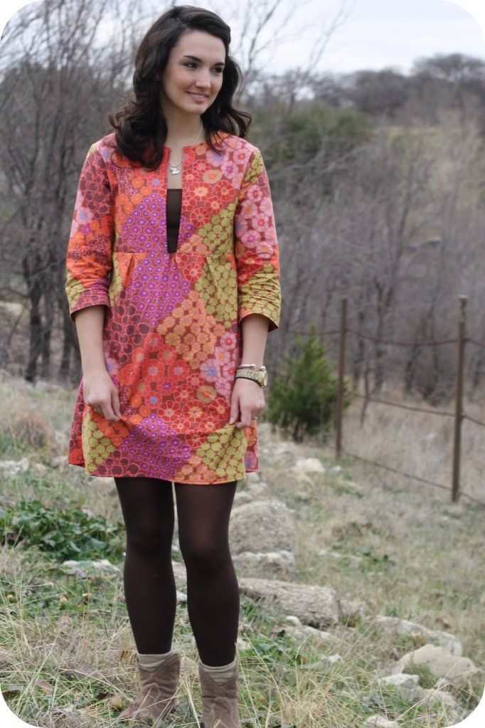 Schoolhouse Tunic from Sew Liberated! a GREAT pattern for a beginner sewer (or new-to-patterns sewer).