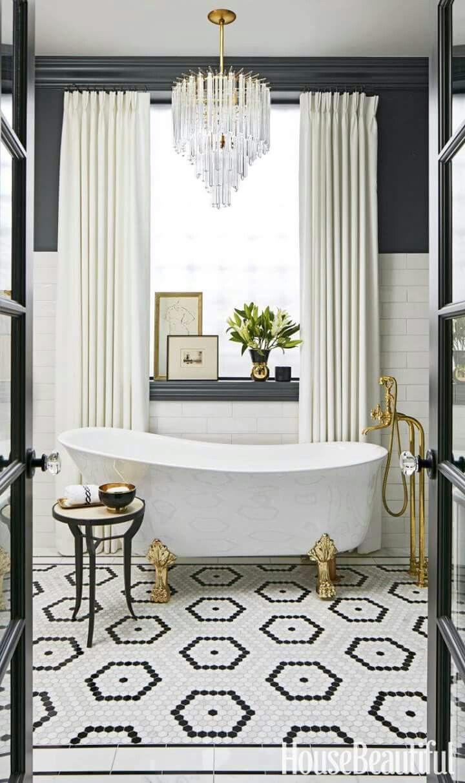 99+ Inspiring Bathroom Tile Design 2017 Ideas