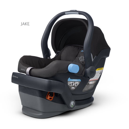 UPPAbaby Mesa Infant Car Seat in Jake Black available at
