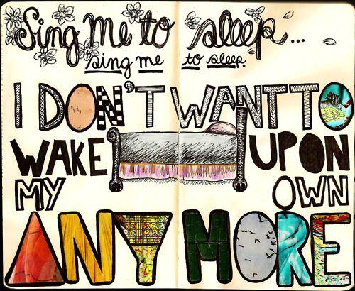 Sing Me To Sleep Sing Me To Sleep Sing To Me Scrapbook Inspiration