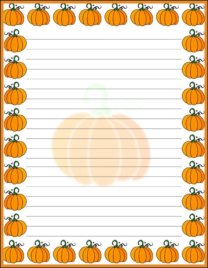 pumpkin writing paper handwriting lines abraham lincoln hat  pumpkin  writing paper handwriting lines abraham lincoln hat A to Z Teacher Stuff Printable Pages and Worksheets