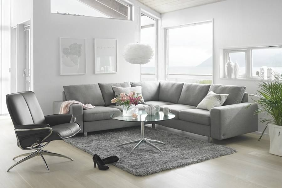 modernes lounge sofa in u form stressless e200 zu. Black Bedroom Furniture Sets. Home Design Ideas