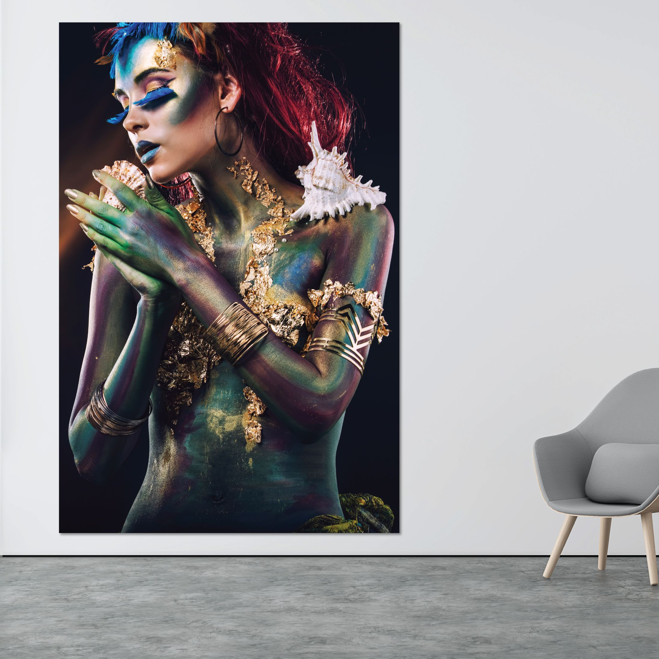 Beautiful Lady Kunst Ideeen Glas Schilderij Uitleg Over Digitale Kunst