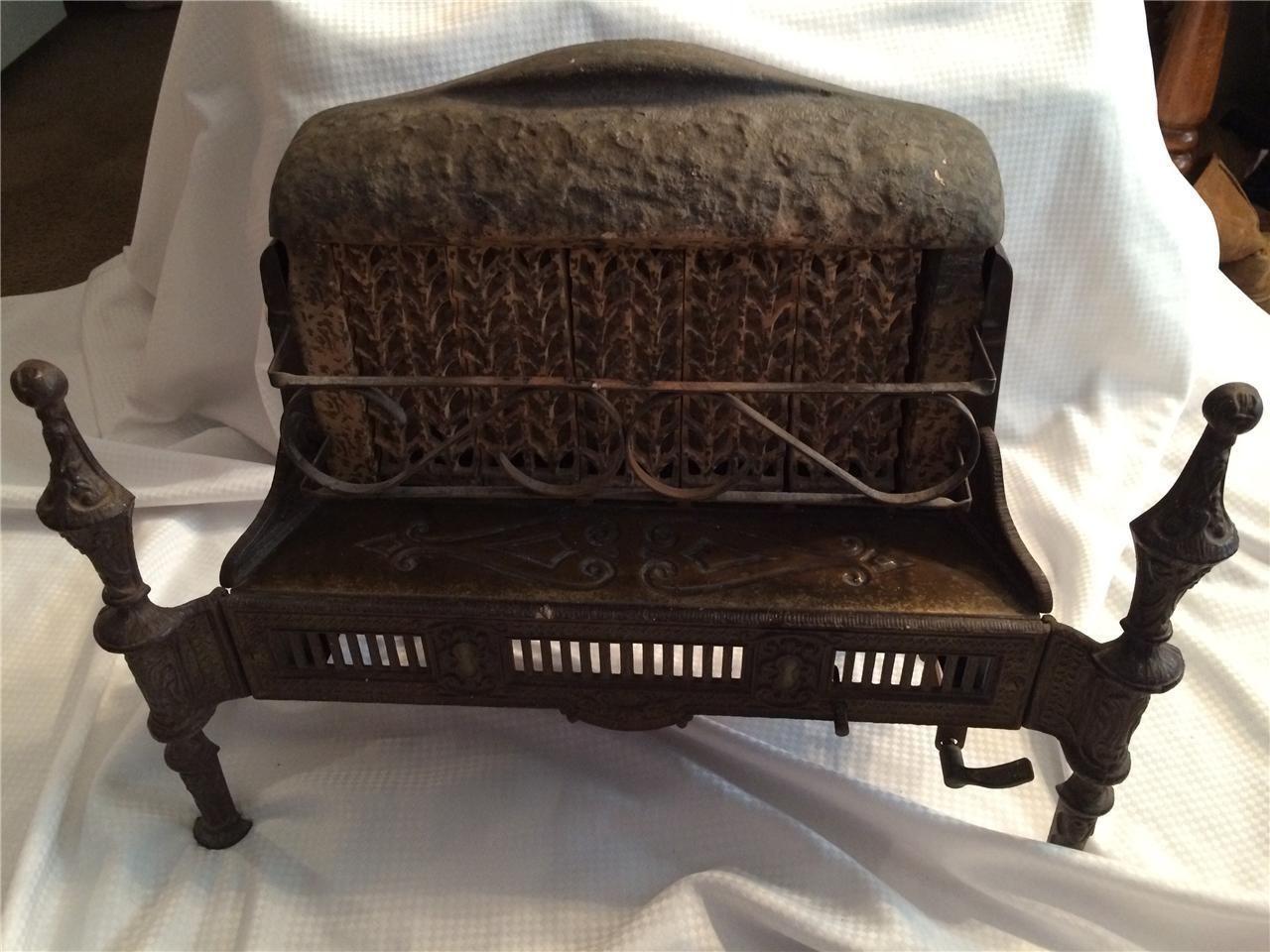 Rare Working Antique Victorian Reznor Ceramic Gas Cabin Heater Stove Oven No 225