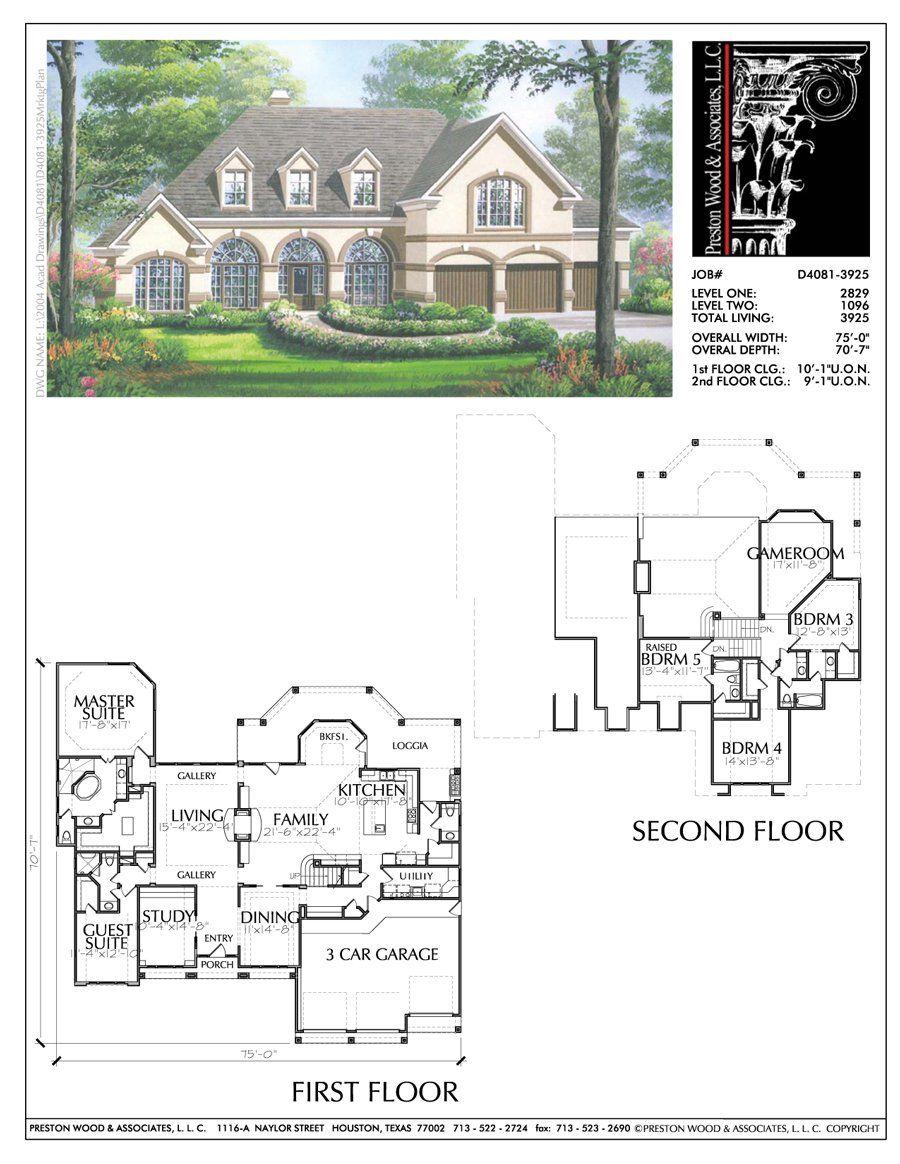 story house plans home blueprint online unique housing floor plan  preston wood associates also rh ar pinterest