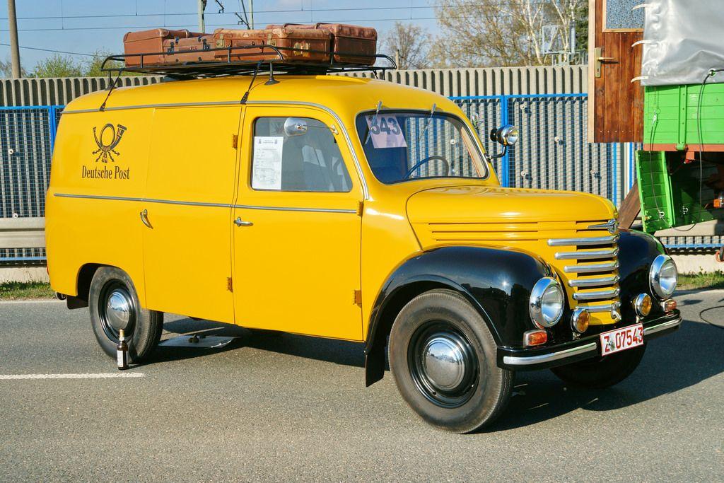 Framo V 901/2 Deutsche Post Kastenwagen (mit Bildern