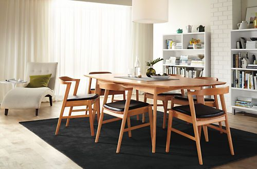 Love This Dining Room Set Going To Get It Someday Modern Dining Table Modern Dining Modern Wood Dining Chair