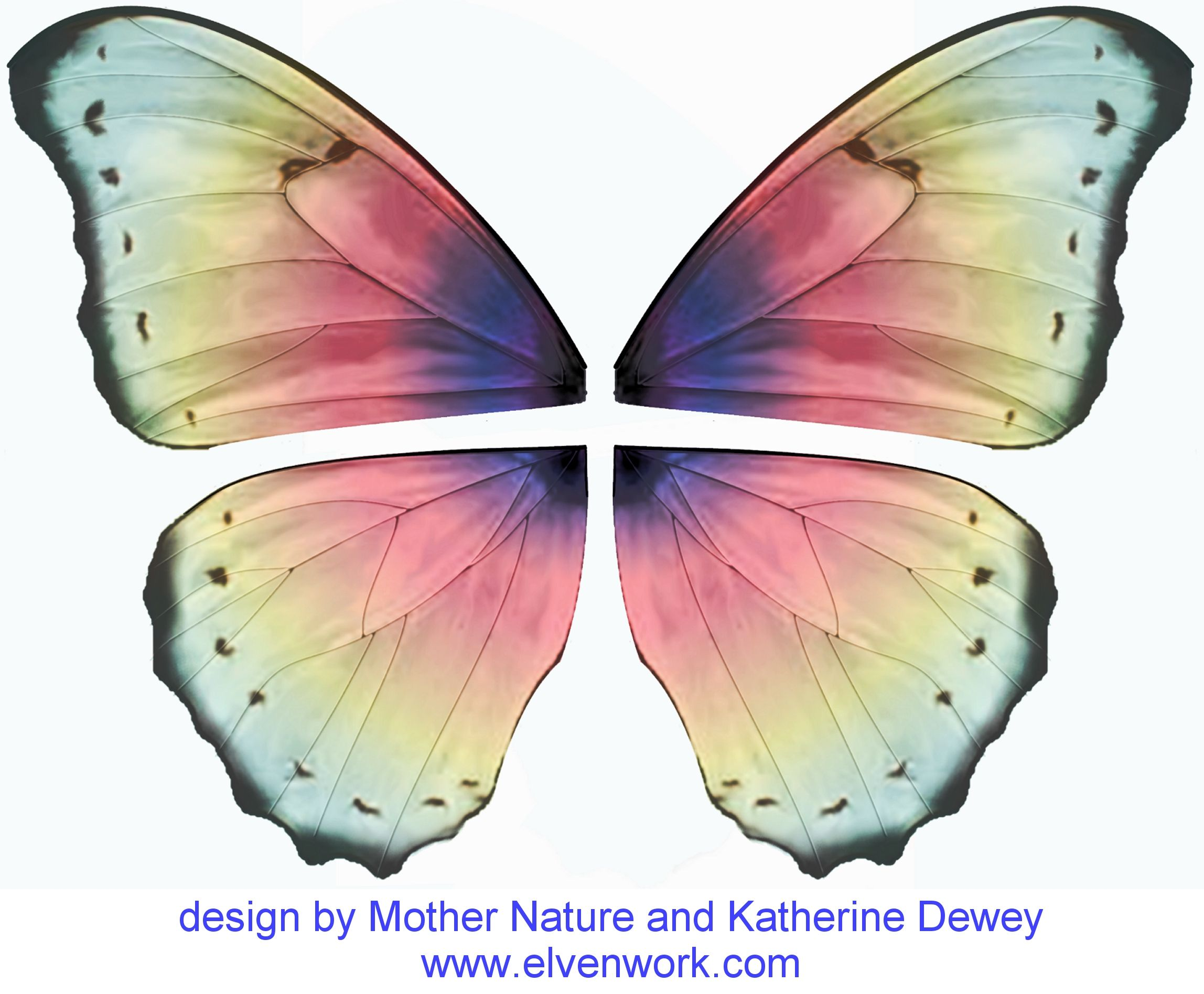 Fairy Wing Designs by Katherine Dewey Printables Pinterest
