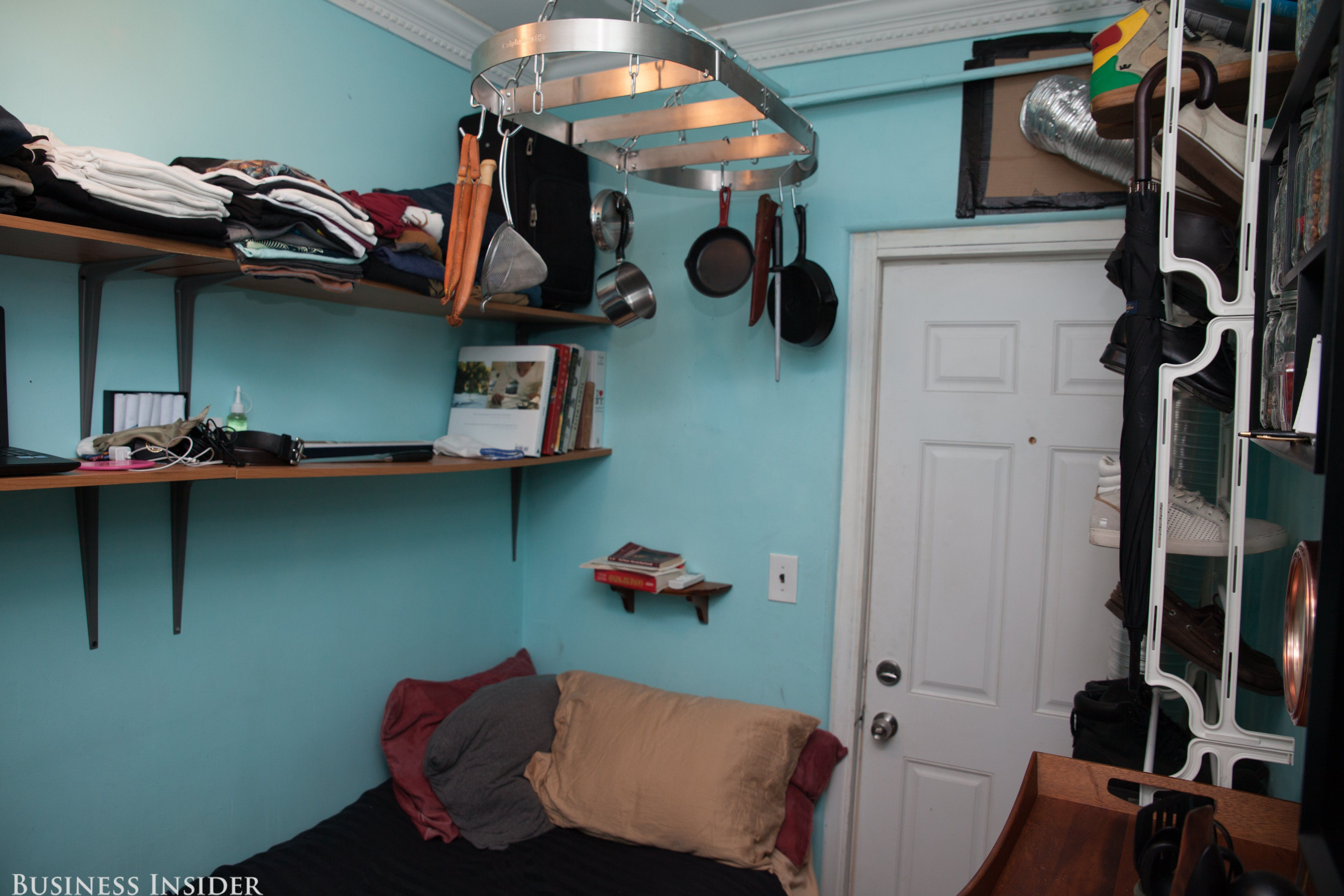 This chef, who lives in a 100-square-foot apartment, is proof that ...