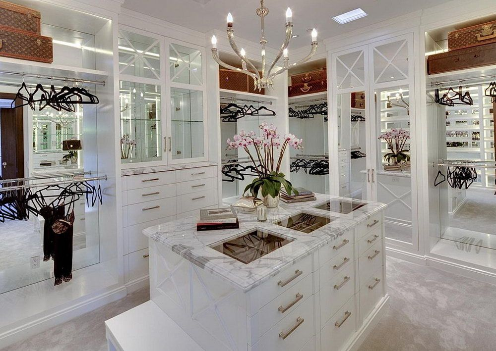 Luxury Walk In Closet luxury walk in closet for women | walk-in closet | pinterest