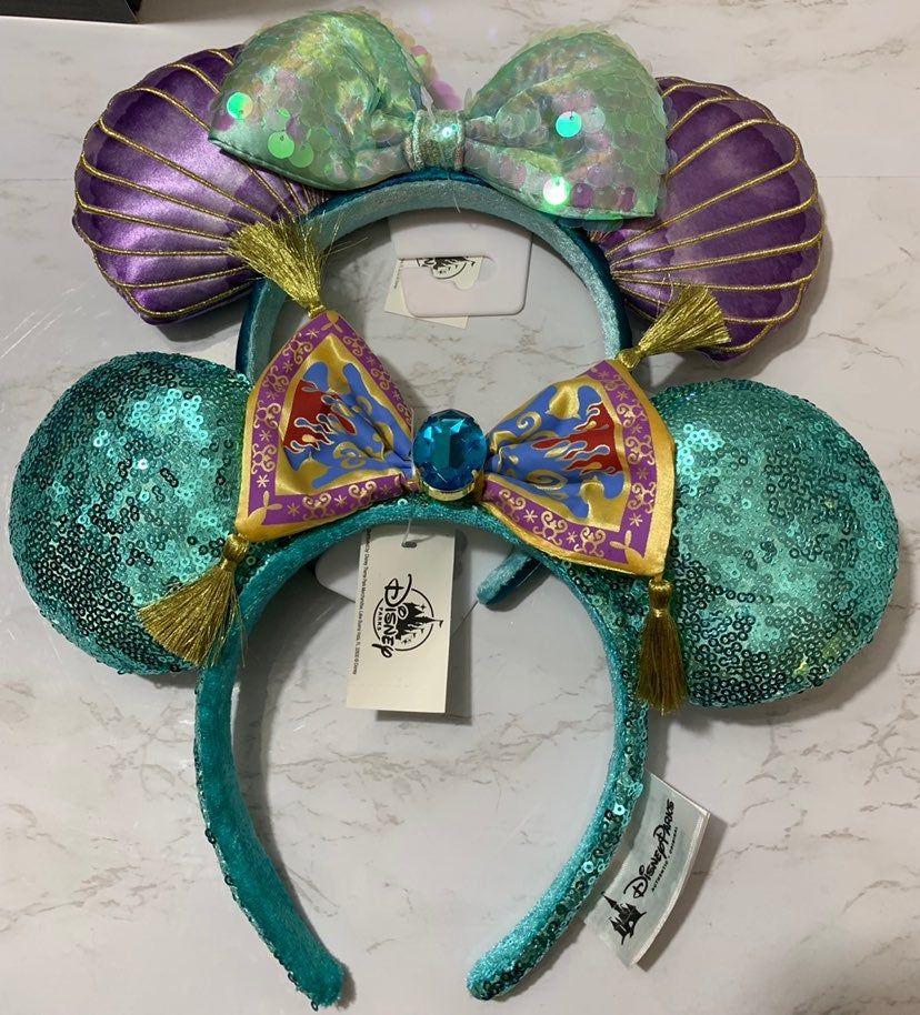Princess Ariel Headband The Little Mermaid Birthday Headband Disney Headband