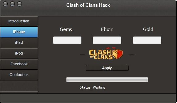 Clash Of Clans Hack Gems Generator For Android And IOS