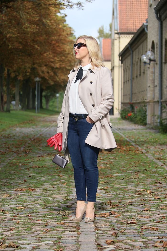 ALDO.de Fashion Beauty Lifestyle Magazin -  Relana im Trenchcoat