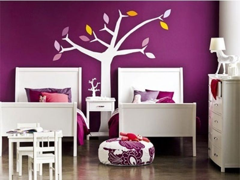 Purple Kids Room Design Ideas Kidsomania Amelie Poots
